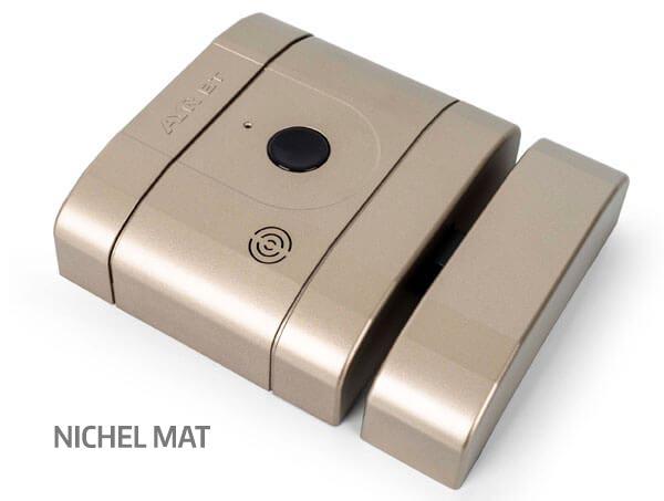 Încuietoare inteligentă invizibilă • Int-Lock • nichel mat