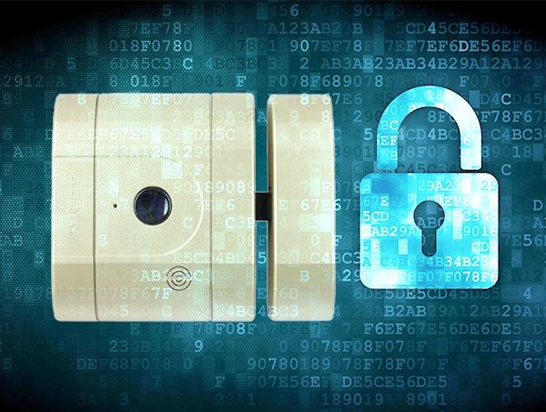 Încuietoare inteligentă invizibilă • Int-Lock • criptare AES 256 bits • clonare imposibilă