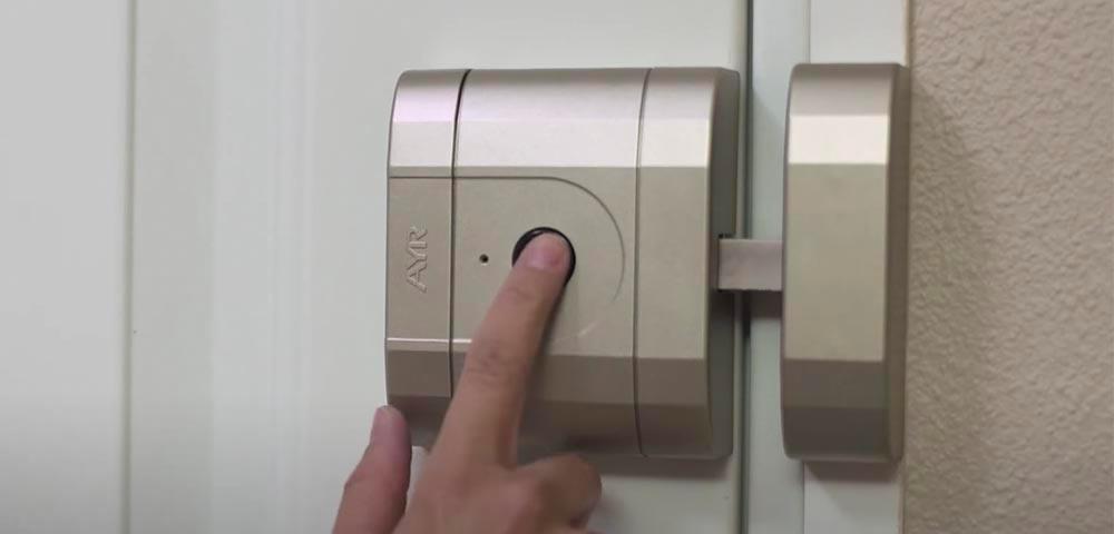 Încuietoare inteligentă invizibilă • Int-Lock • acționare din buton
