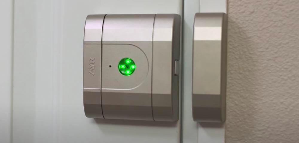 """Încuietoare inteligentă invizibilă • Int-Lock • confirmare LED a poziției """"deschis"""""""
