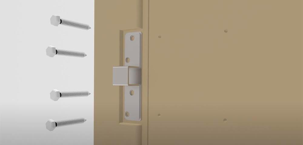 Încuietoare inteligentă invizibilă • Int-Lock • ușor de montat