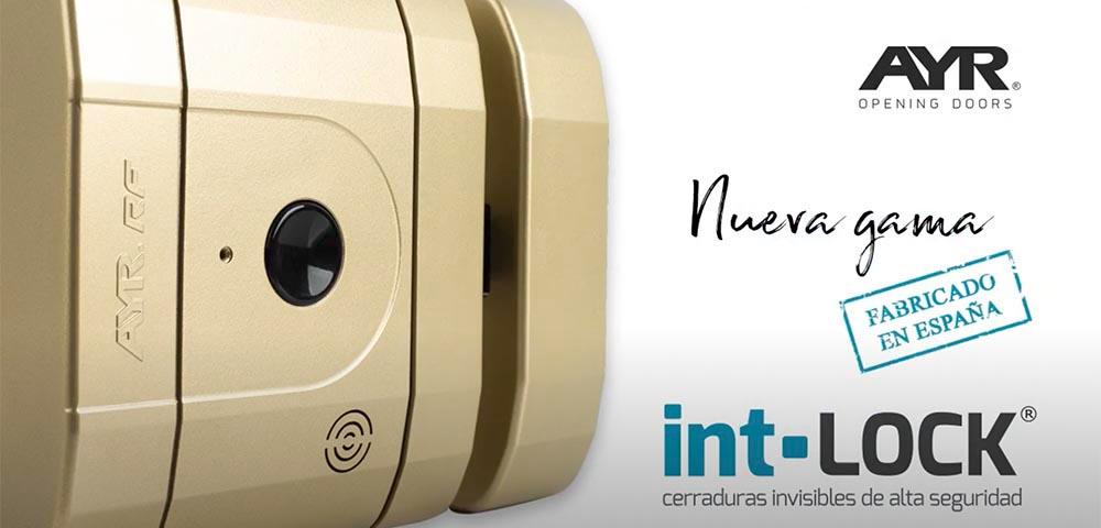 Încuietoare inteligentă invizibilă • Int-Lock • fabricata in Spania